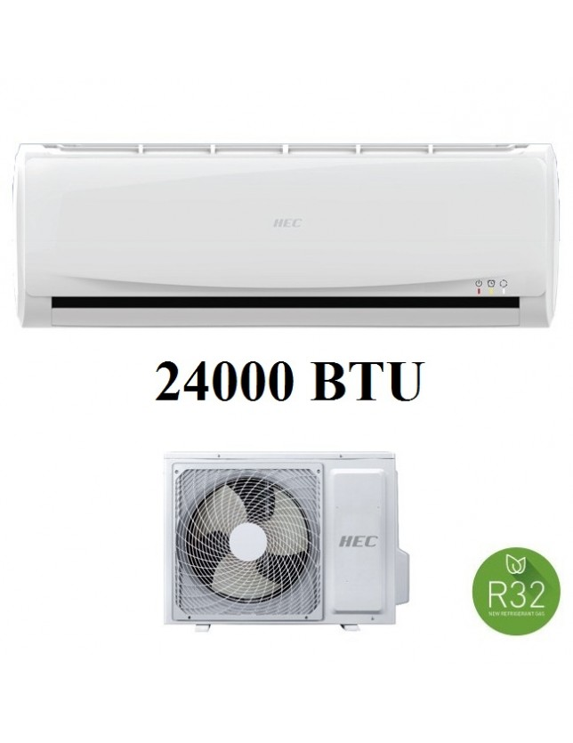 HEC BY HAIER CONDIZIONATORE SET INVERTER R32 24000 BTU