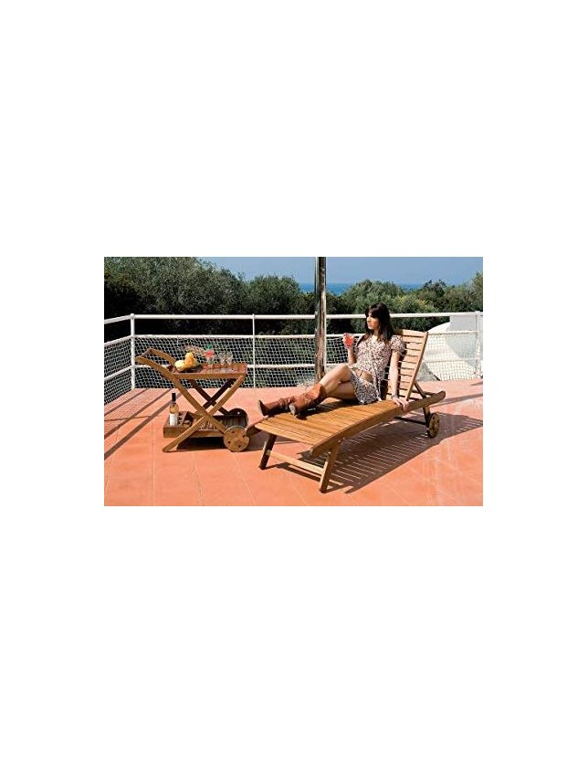 "LETTINO IN LEGNO ""LOUNGER"" ART.SL-620-C1"