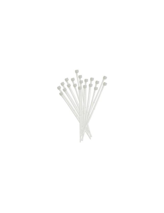 ELEMATIC FASCETTE CABL.NAT.MM.3,5X200 BIANCHE(PZ.100)