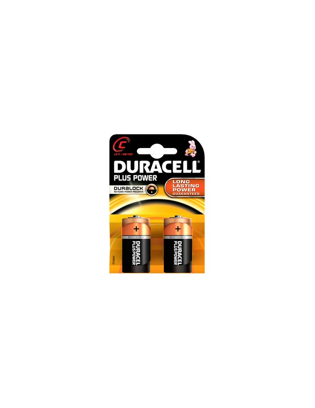 DURACELL PILA ALCALINA 1/2 TORCIA MN1400 PZ.2