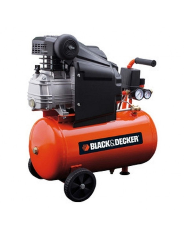 BLACK&DECKER COMPRESSORE LT.24 HP.2,0