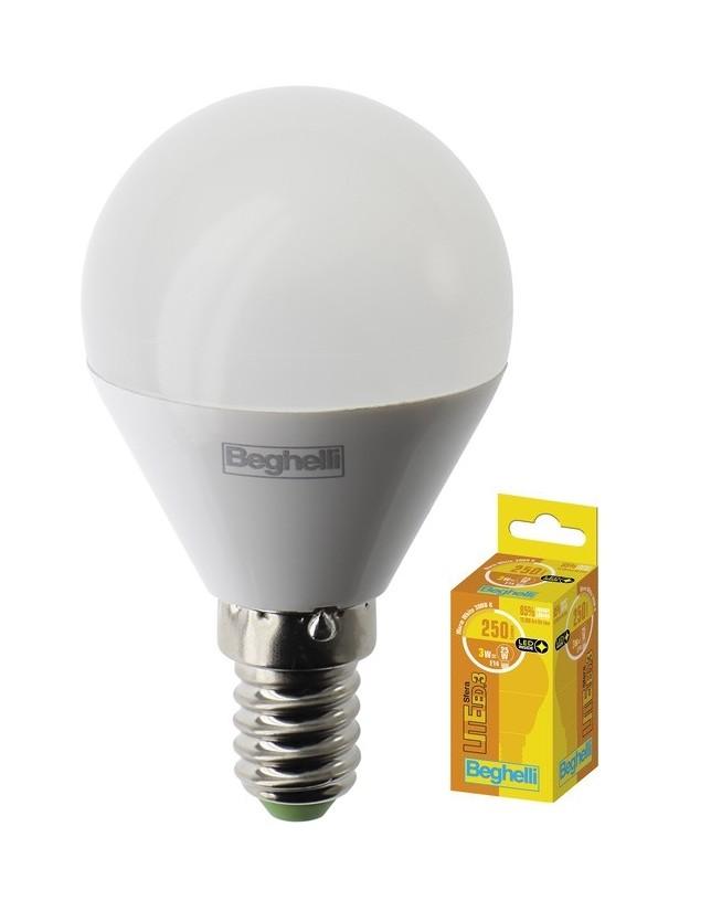 BEGHELLI LED SFERA 3W E14
