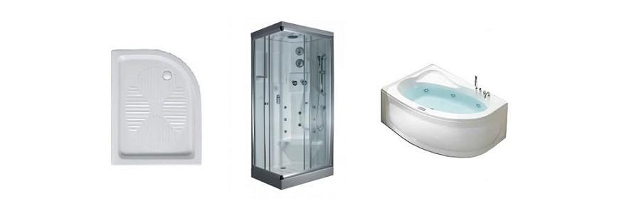 Box doccia, piatti e vasche